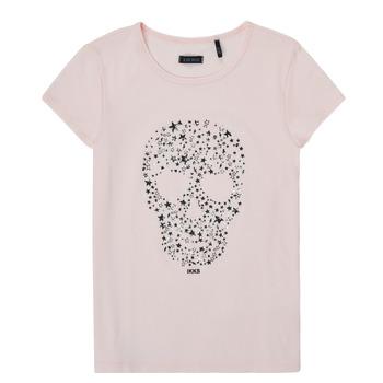 Textiel Meisjes T-shirts korte mouwen Ikks XS10492-31-J Roze