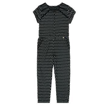 Textiel Meisjes Jumpsuites / Tuinbroeken Ikks XS32012-02-J Zwart
