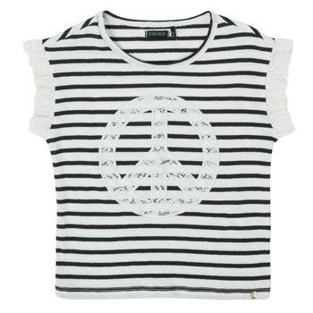 Textiel Meisjes T-shirts korte mouwen Ikks XS10022-19-J Multicolour