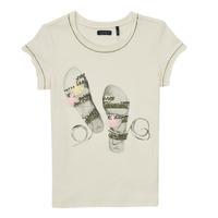 Textiel Meisjes T-shirts korte mouwen Ikks XS10132-11-C Wit