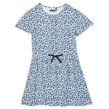 Textiel Meisjes Korte jurken Ikks XS30102-48-C Blauw