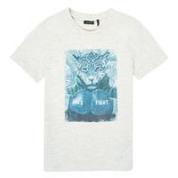 Textiel Jongens T-shirts korte mouwen Ikks XS10183-22-C Wit