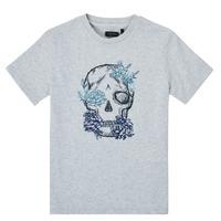 Textiel Jongens T-shirts korte mouwen Ikks XS10243-21-C Grijs