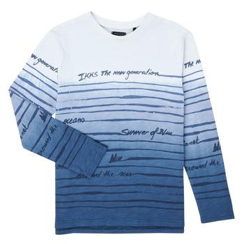 Textiel Jongens T-shirts met lange mouwen Ikks XS10003-19-C Multicolour