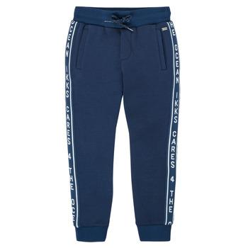 Textiel Jongens Trainingsbroeken Ikks XS23003-48-C Marine