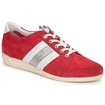 Schoenen Dames Lage sneakers Janet Sport MARGOT ODETTE Rood