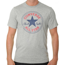 Textiel Heren T-shirts korte mouwen Converse  Grijs