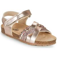 Schoenen Meisjes Sandalen / Open schoenen Mod'8 KOENIA Roze / Goud