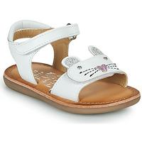 Schoenen Meisjes Sandalen / Open schoenen Mod'8 CLOONIE Wit