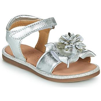 Schoenen Meisjes Sandalen / Open schoenen Mod'8 PAXILLA Zilver