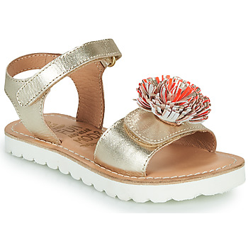Schoenen Meisjes Sandalen / Open schoenen Mod'8 JELLINE Goud / Koraal
