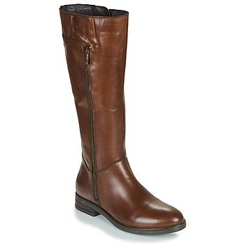 Schoenen Dames Hoge laarzen Betty London JANKA Bruin