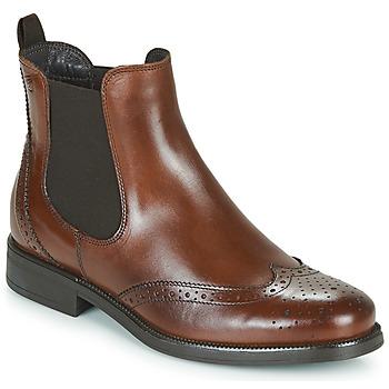 Schoenen Dames Laarzen Betty London JOSTA Bruin