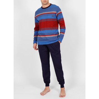 Textiel Heren Pyjama's / nachthemden Admas For Men Pyjamabroek Ring Antonio Miro Admas Blauw