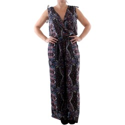 Textiel Dames Jumpsuites / Tuinbroeken Couleurs Du Monde LI-0023 Multicolor Multicolor