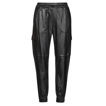 Textiel Dames 5 zakken broeken Oakwood CARGO Zwart