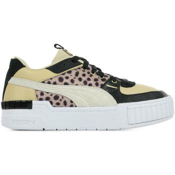Schoenen Dames Sneakers Puma Cali Sport W.Cats Wn's Beige