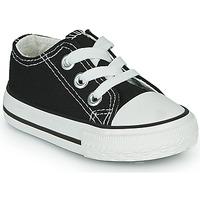 Schoenen Kinderen Lage sneakers Citrouille et Compagnie OTAL Zwart