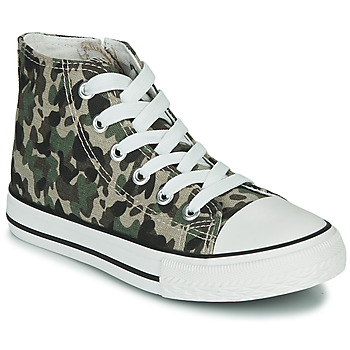 Schoenen Kinderen Hoge sneakers Citrouille et Compagnie OUTIL Camouflage