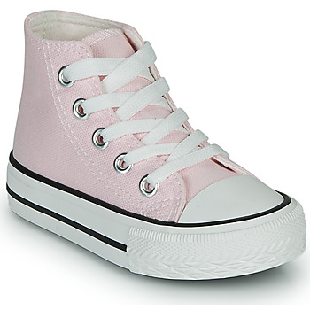 Schoenen Meisjes Hoge sneakers Citrouille et Compagnie OUTIL Roze
