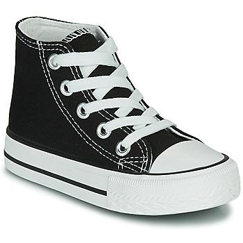 Schoenen Kinderen Hoge sneakers Citrouille et Compagnie OTAL Zwart