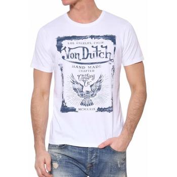 Textiel Heren T-shirts korte mouwen Von Dutch  Wit