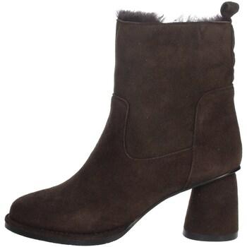 Schoenen Dames Laarzen Nina Capri IC-138 Brown