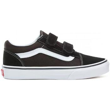 Schoenen Kinderen Lage sneakers Vans Old skool v Zwart