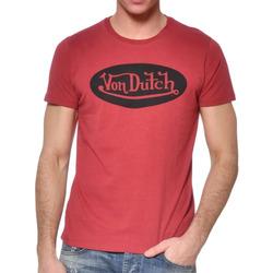 Textiel Heren T-shirts korte mouwen Von Dutch  Rood