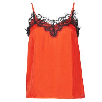 Textiel Dames Mouwloze tops Les Petites Bombes AMY Oranje