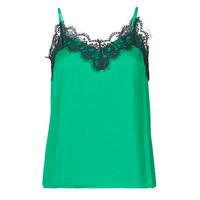 Textiel Dames Mouwloze tops Les Petites Bombes AMY Groen