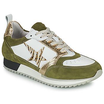 Schoenen Dames Lage sneakers Philippe Morvan ROOXY V2 Wit / Kaki