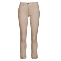 Textiel Dames 5 zakken broeken Liu Jo IDEAL Beige