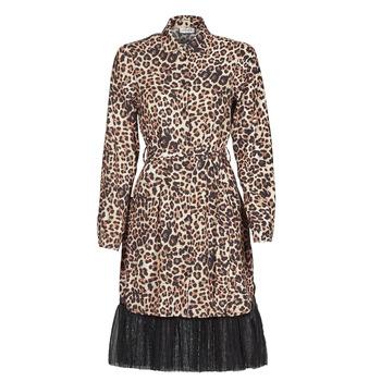 Textiel Dames Korte jurken Liu Jo WA1218-T9147-T9680 Luipaard
