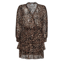 Textiel Dames Korte jurken Liu Jo WA1530-T5059-T9680 Luipaard