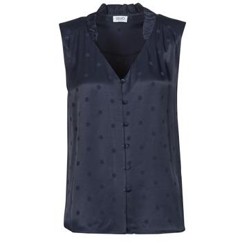 Textiel Dames Tops / Blousjes Liu Jo WA1044-T4758-93923 Marine