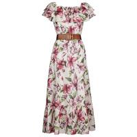 Textiel Dames Lange jurken Liu Jo WA1496-T5976-T9706 Fleur