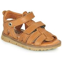 Schoenen Jongens Sandalen / Open schoenen GBB JULIO Bruin