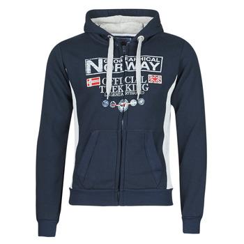 Textiel Heren Sweaters / Sweatshirts Geographical Norway GAFONT Marine