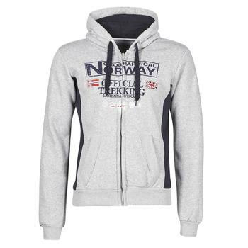 Textiel Heren Sweaters / Sweatshirts Geographical Norway GAFONT Grijs / Bont