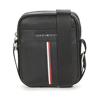 Tassen Heren Tasjes / Handtasjes Tommy Hilfiger TH DOWNTOWN MINI REPORTER Zwart