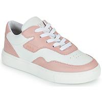 Schoenen Meisjes Lage sneakers BOSS PAOLA Wit / Roze