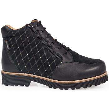 Schoenen Dames Laarzen Calzamedi SCHOENEN MET HAK  0711 NEGRO
