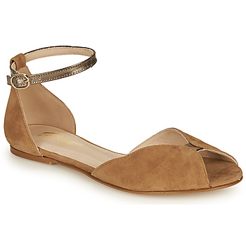 Schoenen Dames Sandalen / Open schoenen Betty London INALI Camel