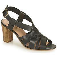 Schoenen Dames Sandalen / Open schoenen Betty London OCHAT Zwart