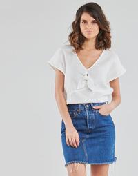 Textiel Dames Tops / Blousjes Betty London ODIME Wit