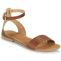 Schoenen Dames Sandalen / Open schoenen Betty London GIMY Camel