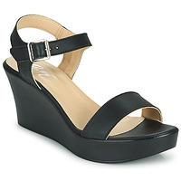 Schoenen Dames Sandalen / Open schoenen Betty London CHARLOTA Zwart