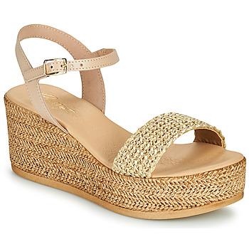 Schoenen Dames Sandalen / Open schoenen Betty London OFINI Beige