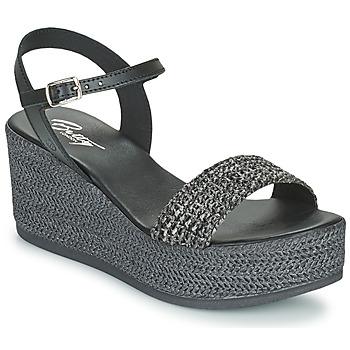 Schoenen Dames Sandalen / Open schoenen Betty London OFINI Zwart